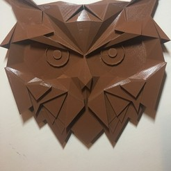 Download free 3D printer files Geometrical owl, 3dmodelsturkey