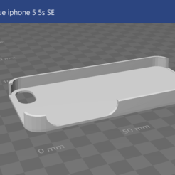 Download free STL file IPhone case 5 • 3D printable design, jujulm72130