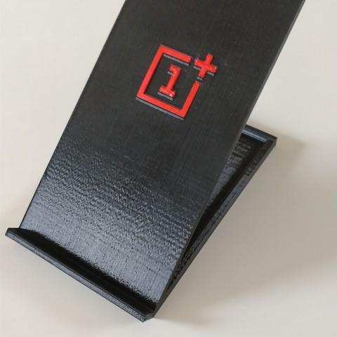 Download free STL file OnePlus smartphone support • 3D print model, jujulm72130