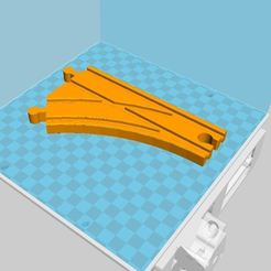 Aiguillage simple.JPG Download free STL file Single points for Lidl, Ikea, etc.... • 3D printer model, luckies
