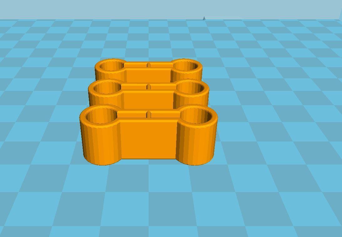 Capture.JPG Télécharger fichier STL gratuit Attache pour les rails du train en bois Lidl • Plan à imprimer en 3D, luckies