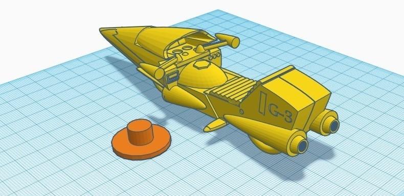 """gm2.jpg Télécharger fichier STL gratuit Moto GATCHAMAN """"Agatta June • Plan pour imprimante 3D, alejandroever"""