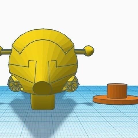 """gm5.jpg Télécharger fichier STL gratuit Moto GATCHAMAN """"Agatta June • Plan pour imprimante 3D, alejandroever"""