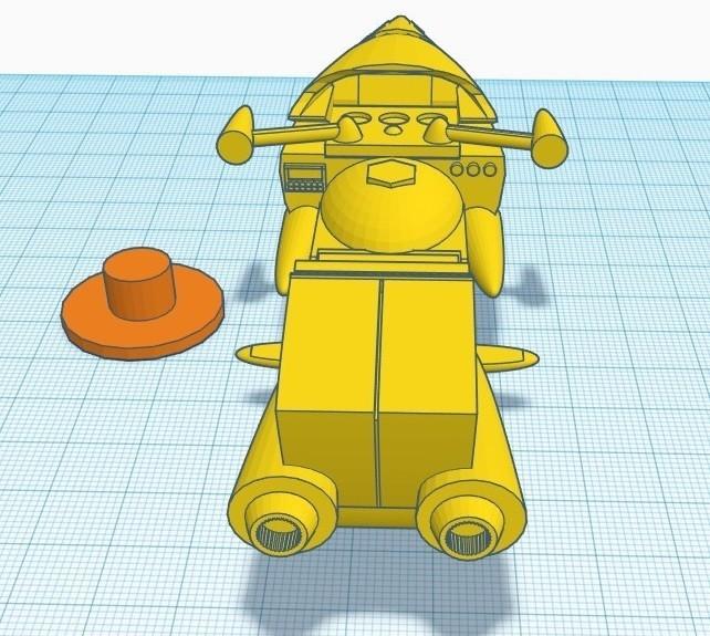 """gm3.jpg Télécharger fichier STL gratuit Moto GATCHAMAN """"Agatta June • Plan pour imprimante 3D, alejandroever"""