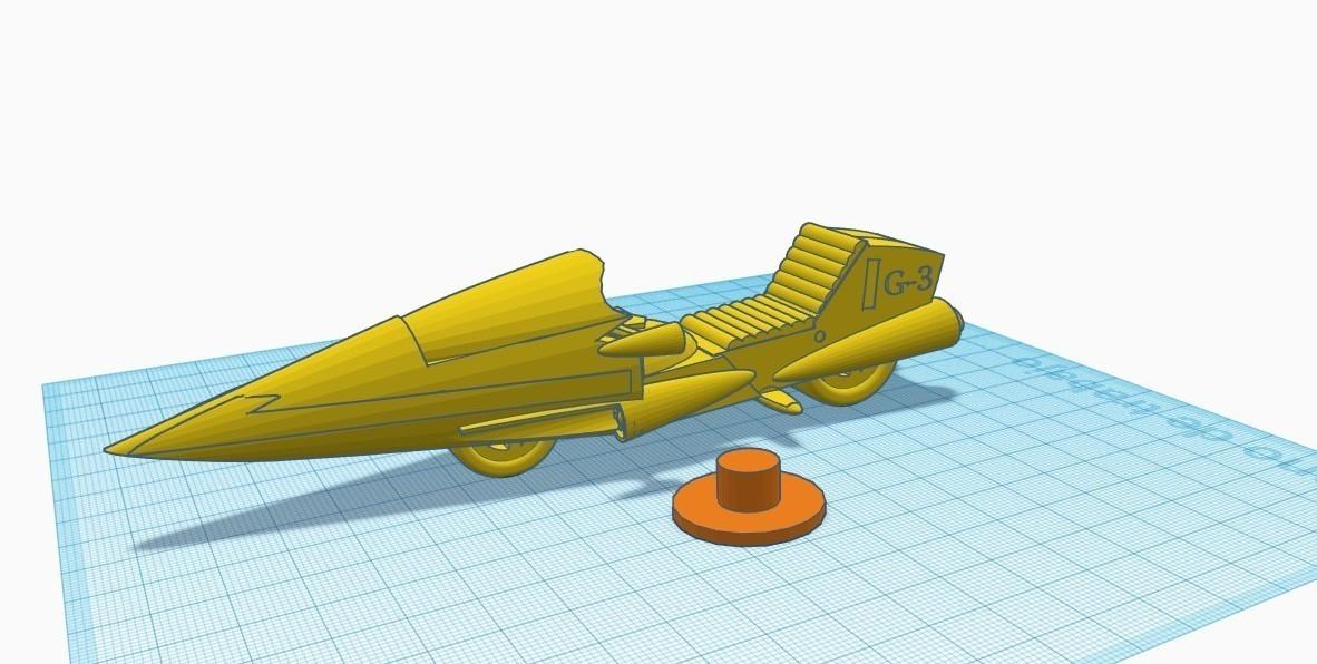 """gm1 (2).jpg Télécharger fichier STL gratuit Moto GATCHAMAN """"Agatta June • Plan pour imprimante 3D, alejandroever"""