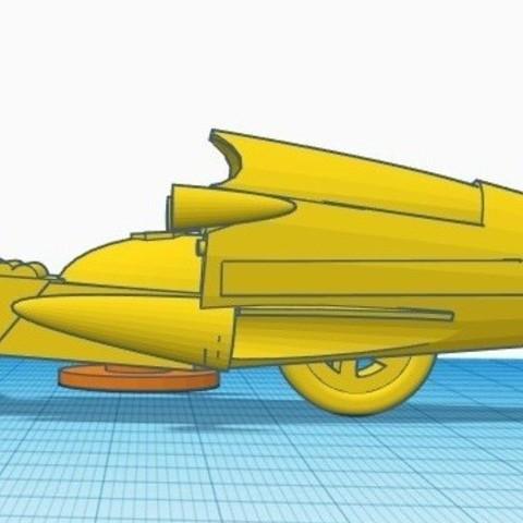 """gm4.jpg Télécharger fichier STL gratuit Moto GATCHAMAN """"Agatta June • Plan pour imprimante 3D, alejandroever"""