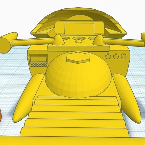 """gm6.jpg Télécharger fichier STL gratuit Moto GATCHAMAN """"Agatta June • Plan pour imprimante 3D, alejandroever"""