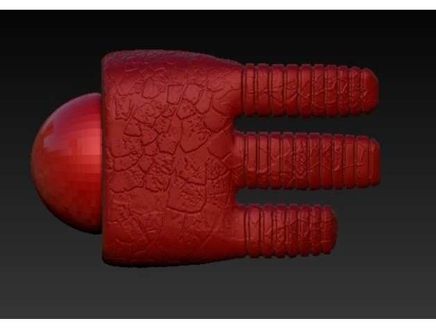 87ad63780f222e1b5d8bad984a883f29_preview_featured.jpg Download free STL file hellboy hand • Template to 3D print, TomasLA