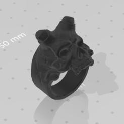 Télécharger plan imprimante 3D gatuit anneau crânien, TomasLA