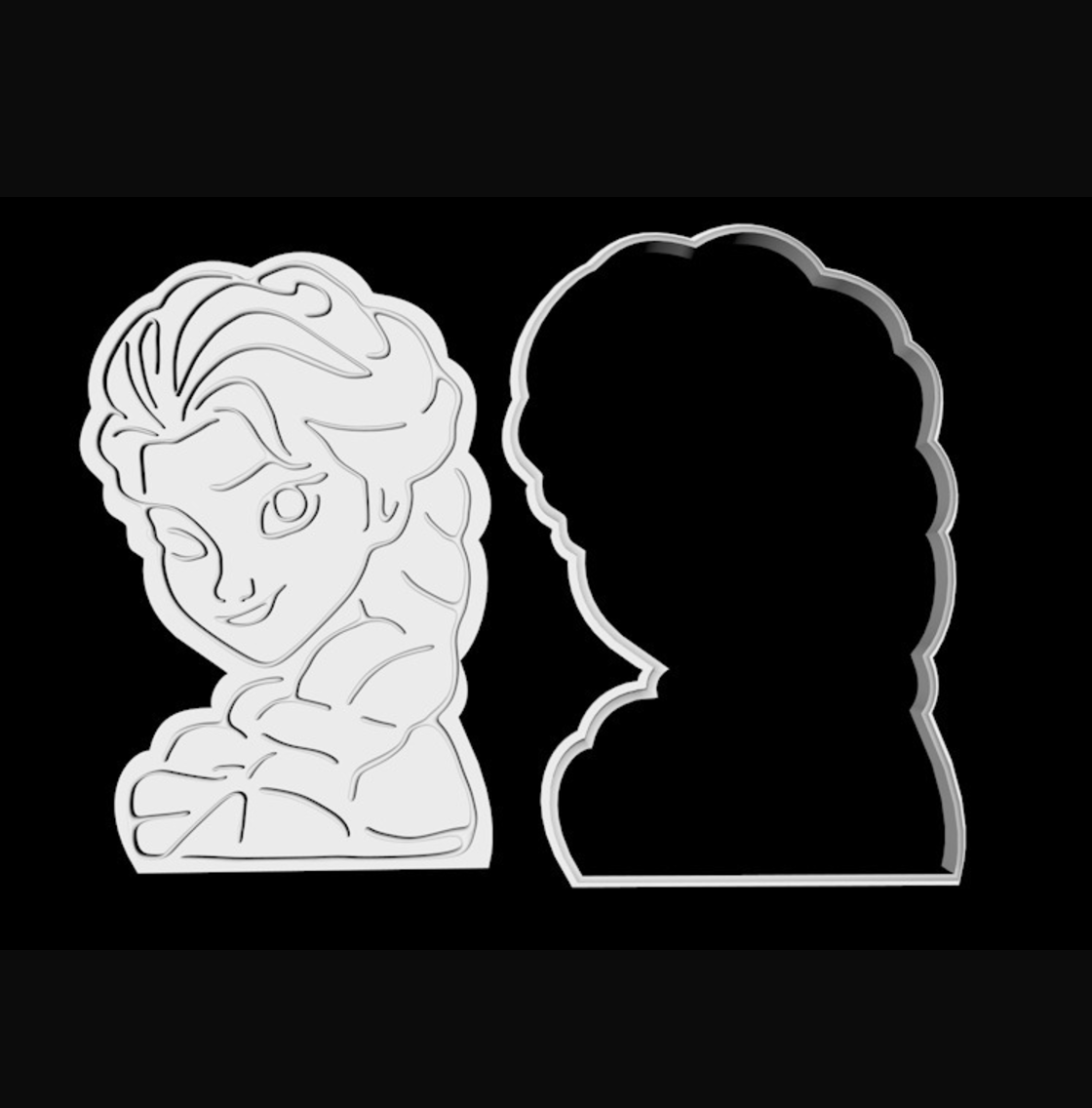 Capture d'écran 2017-07-24 à 13.55.45.png Télécharger fichier STL gratuit Cutter cookie personnage gelé • Design à imprimer en 3D, TomasLA