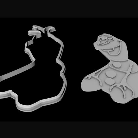 Capture d'écran 2017-07-24 à 13.55.59.png Télécharger fichier STL gratuit Cutter cookie personnage gelé • Design à imprimer en 3D, TomasLA