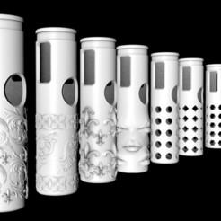 Download free 3D print files Vape Pen 22 custom case, TomasLA