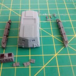 Descargar modelos 3D gratis Partes divididas A7v, nabb