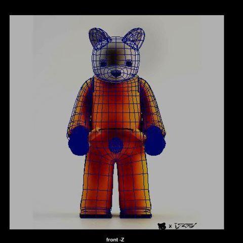 Free 3D model bruised lee fan art, nabb