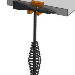 Download free STL files Welding Hammer Hanger, crprinting