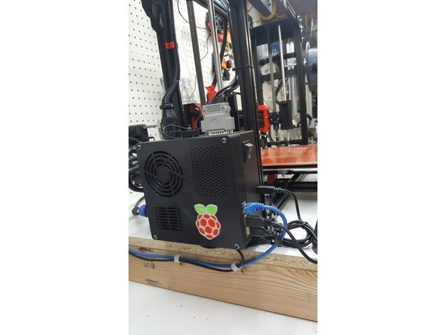 d1c8032ce2f36dd9a40e308d587913df_preview_featured.jpg Download free STL file TAZ 5 Raspberry Pi 2 / 3 Main Box Extension • 3D print template, crprinting