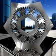Download free 3D print files Crazy Distorted Planetary Gear Bearing, crprinting