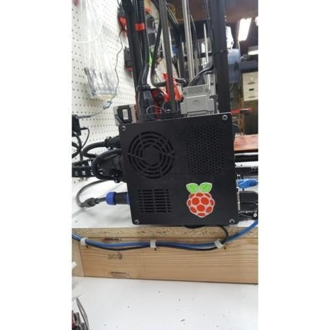 460ee39211c05278b6afa66c2debc6e0_preview_featured.jpg Download free STL file TAZ 5 Raspberry Pi 2 / 3 Main Box Extension • 3D print template, crprinting