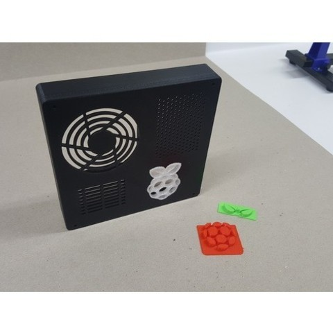 79f71f235909b9225bd54c53358f5baf_preview_featured.jpg Download free STL file TAZ 5 Raspberry Pi 2 / 3 Main Box Extension • 3D print template, crprinting