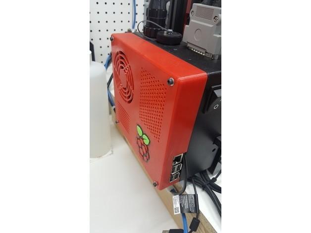 b833d2267c05d08ae0dc2713b519b0f2_preview_featured.jpg Download free STL file TAZ 5 Raspberry Pi 2 / 3 Main Box Extension • 3D print template, crprinting
