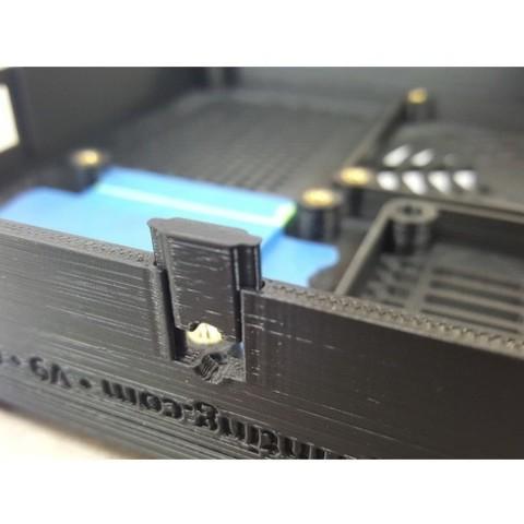c722354d7bc488f9fec6ce4f3b457681_preview_featured.jpg Download free STL file TAZ 5 Raspberry Pi 2 / 3 Main Box Extension • 3D print template, crprinting