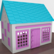 Download free STL file Small Playhouse • 3D printer template, crprinting
