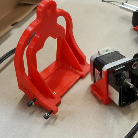 Capture d'écran 2017-04-12 à 12.15.28.png Download free STL file TAZ5 E3D Titan Mount Remixed with stronger back and heat insert holes • 3D printing design, crprinting