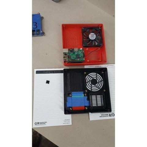 5e746a0f0bda6e9256cdb723dfdd4f52_preview_featured.jpg Download free STL file TAZ 5 Raspberry Pi 2 / 3 Main Box Extension • 3D print template, crprinting