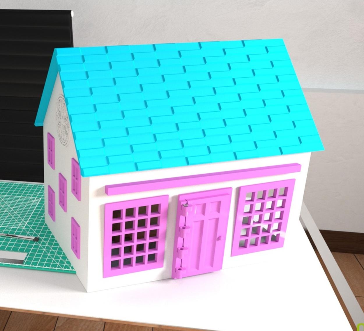 Capture d'écran 2017-04-12 à 13.50.32.png Télécharger fichier STL gratuit Petit maison en jouet • Design à imprimer en 3D, crprinting