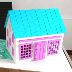 Download free 3D printer designs Small Playhouse, crprinting