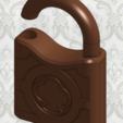 Download free 3D printer designs Old Padlock Replica, crprinting