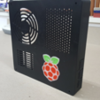 Download free 3D printing templates TAZ 5 Raspberry Pi 2 / 3 Main Box Extension, crprinting