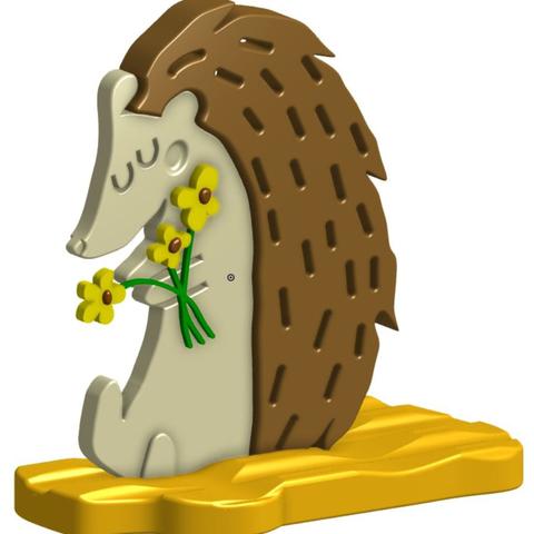 Capture d'écran 2017-04-26 à 14.27.31.png Download free STL file Hedgehog 3D • 3D printer design, crprinting