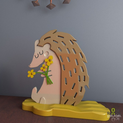 Free 3D printer model Hedgehog 3D, crprinting