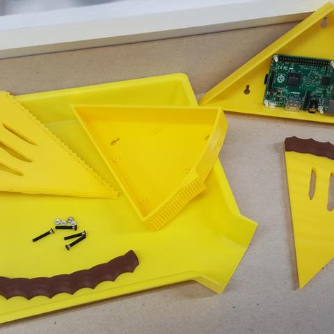 Capture d'écran 2017-04-12 à 13.54.01.png Download free STL file Raspberry Pi Pie Case • 3D printer model, crprinting