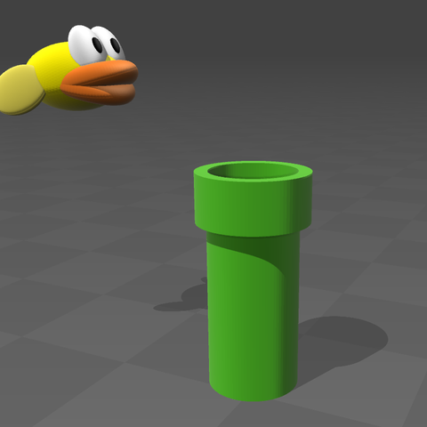 Download free STL file Flappy Birds • 3D printing template, tyh
