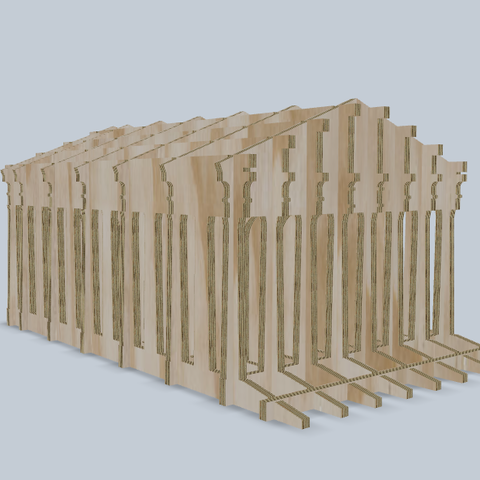 temple greek.png Download free STL file Greek temple puzzle • 3D printing design, tyh