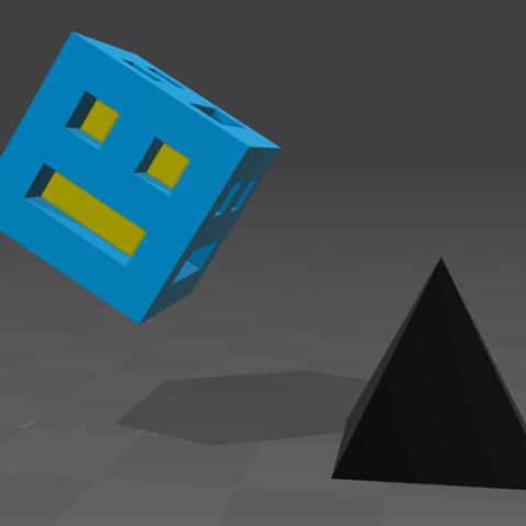 Télécharger plan imprimante 3D gatuit geometry dash, tyh