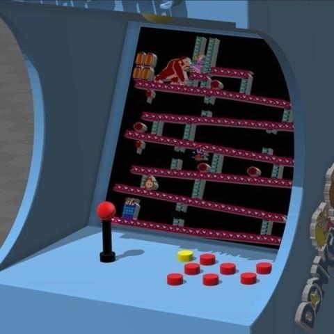 7bd1079a1d807d4918b18a9a9a5daac3_preview_featured.jpg Télécharger fichier STL gratuit donkey kong arcade • Plan pour imprimante 3D, tyh