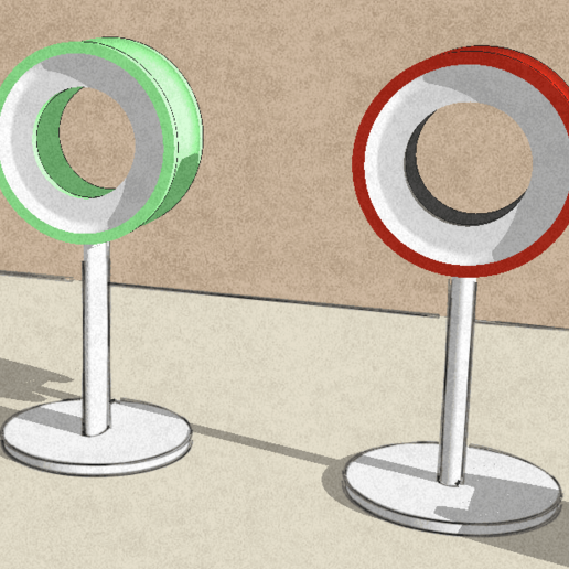 Typologie.png Download free STL file Headphone stand • 3D printable object, tyh