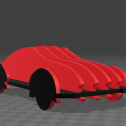car.png Download free STL file Puzzle car • 3D printing template, tyh