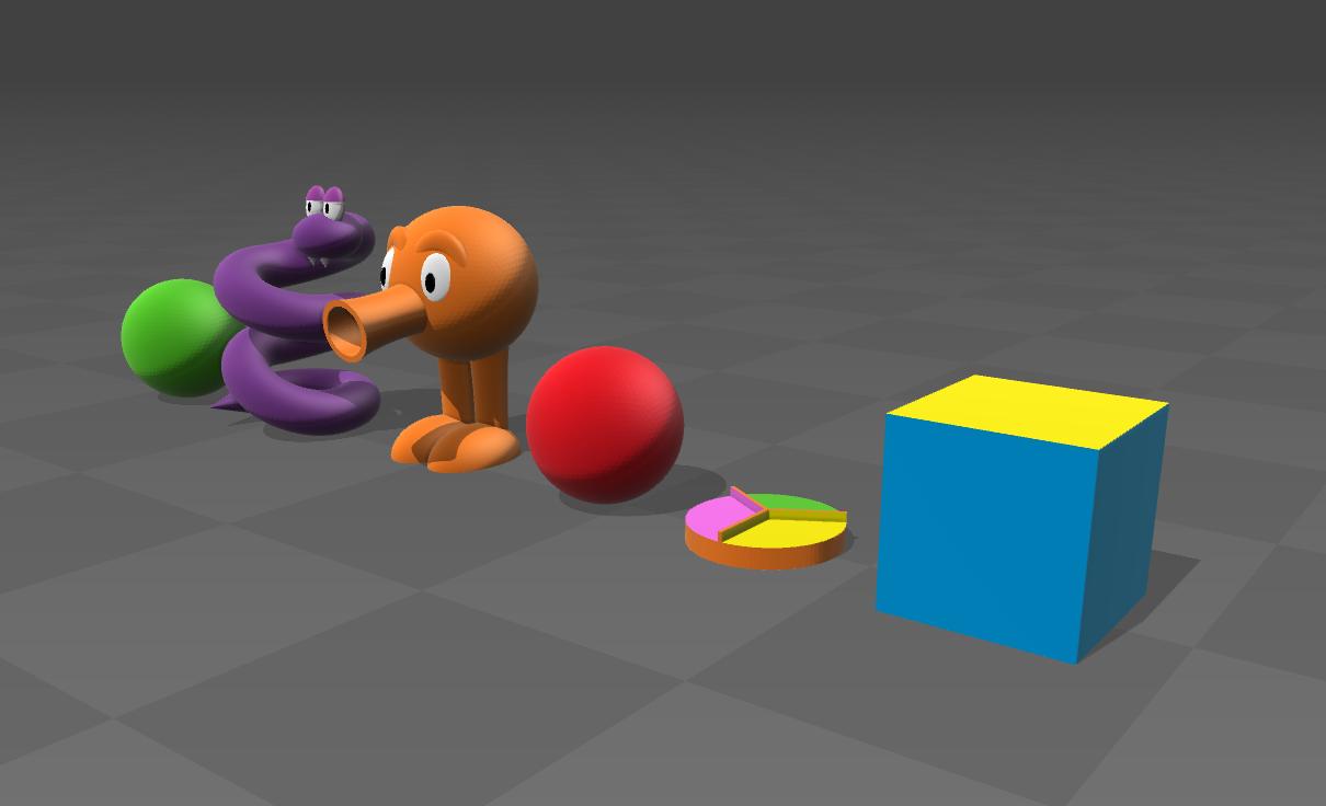 Qbert 2.png Download free STL file Q-bert • 3D print object, tyh