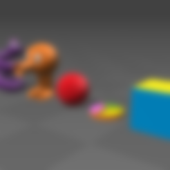 Download free 3D printer designs Q-bert, tyh