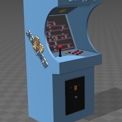 Download free 3D printing designs Donkey kong arcade, tyh