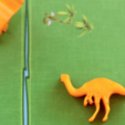Free STL Dinosaur Island - Gallimimus, Robh