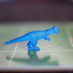 Free 3D printer model Dinosaur Island Meeples - Dilophosaurus, Robh
