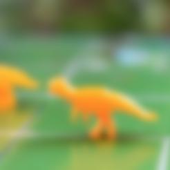 Free 3D printer designs Dinosaur Island - Albertadromeus, Robh