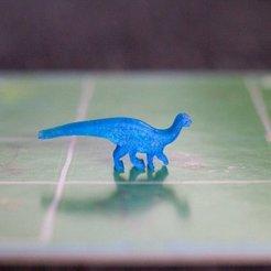 Free 3D model Dinosaur Island Meeples - Mussaurus, Robh