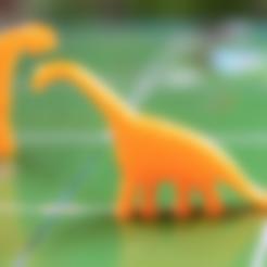 Free STL file Dinosaur Island - Plateosaurus, Robh