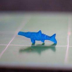 dfed7dbd8493da7b8feacc27ece638ae_display_large.jpg Télécharger fichier STL gratuit Mésange de l'île aux dinosaures - Ichthyosaurus • Plan pour impression 3D, Robh